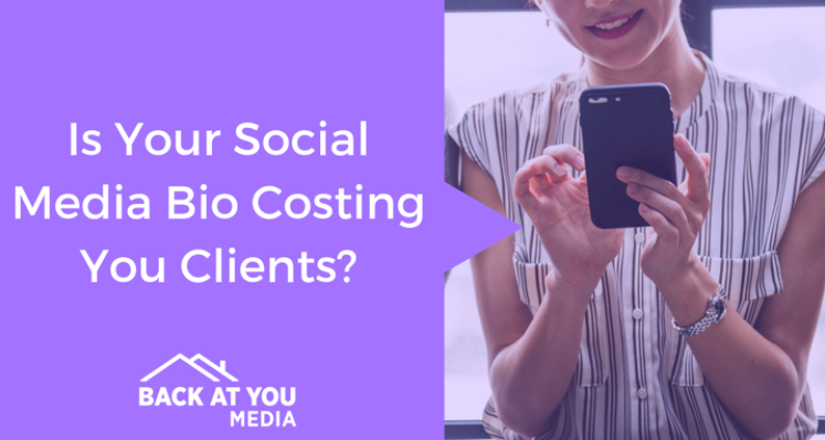 IS YOUR SOCIAL MEDIA BIO COSTING YOU CLIENTS?