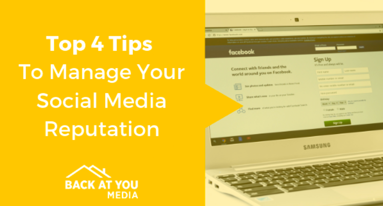 Manage Your Social Media Reputation